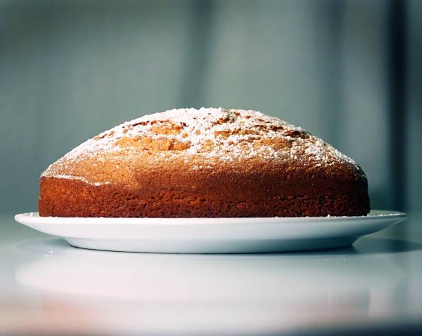 Plat dessert avec gâteau au yaourt